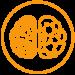 logo icon of brain